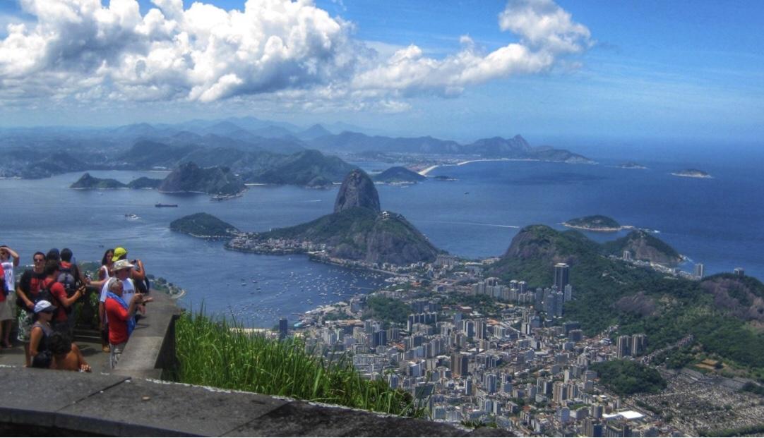 Brazil skyline
