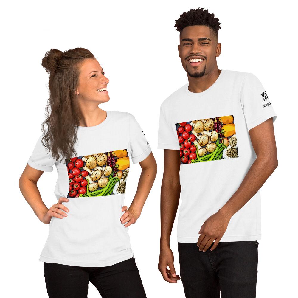 Veggie comic T-shirt