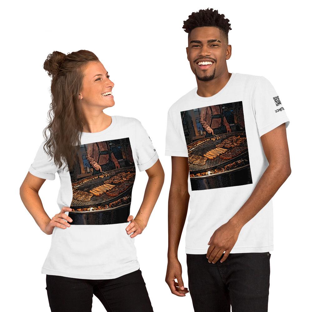 Hotdog comic T-shirt