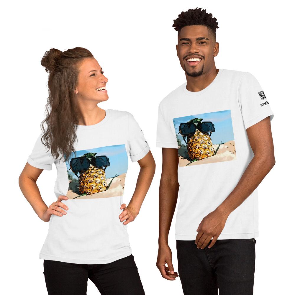 Pineapple comic T-shirt