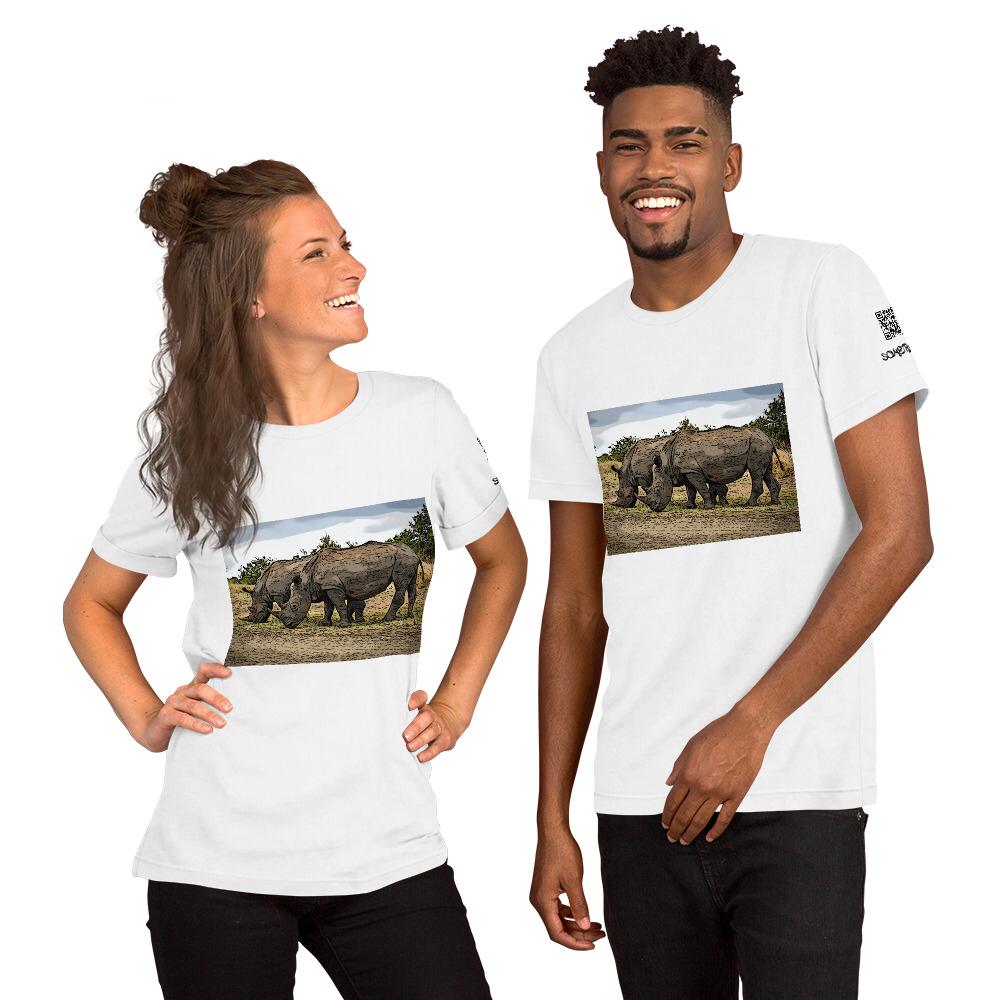 Safari comic T-shirt