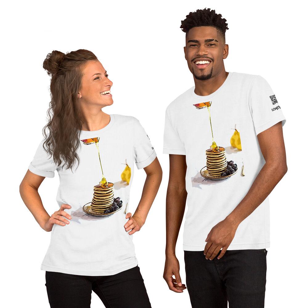 Pancakes comic T-shirt