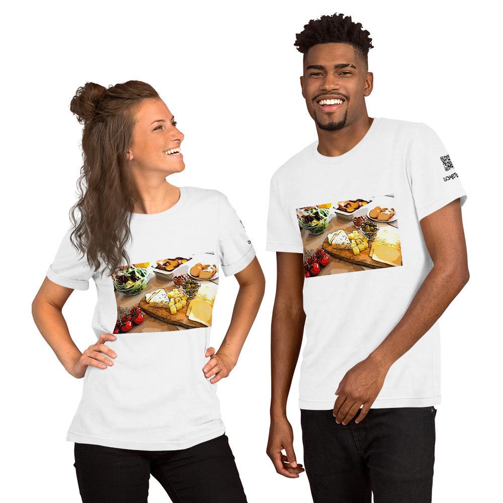Cheese comic T-shirt