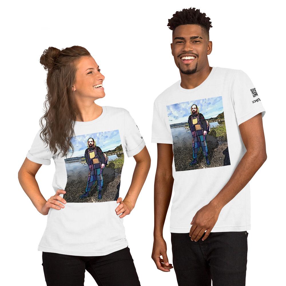 Villarrica comic T-shirt