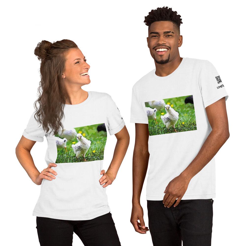Chicken comic T-shirt