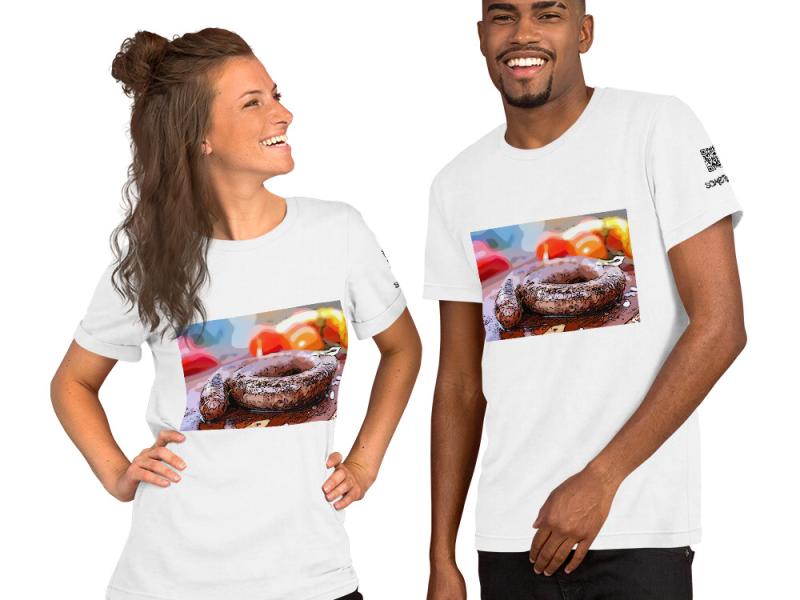 Sausages comic T-shirt