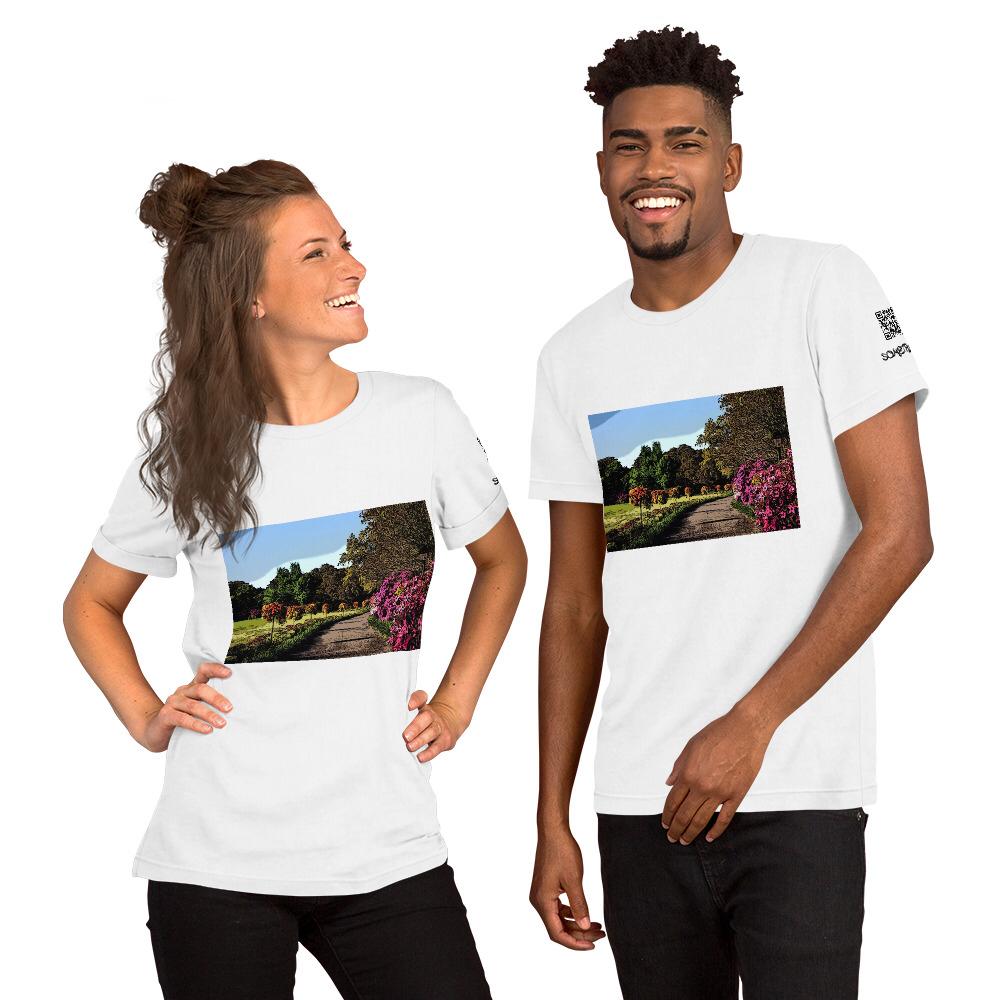 Garden comic T-shirt