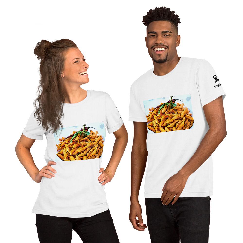 Pasta comic T-shirt