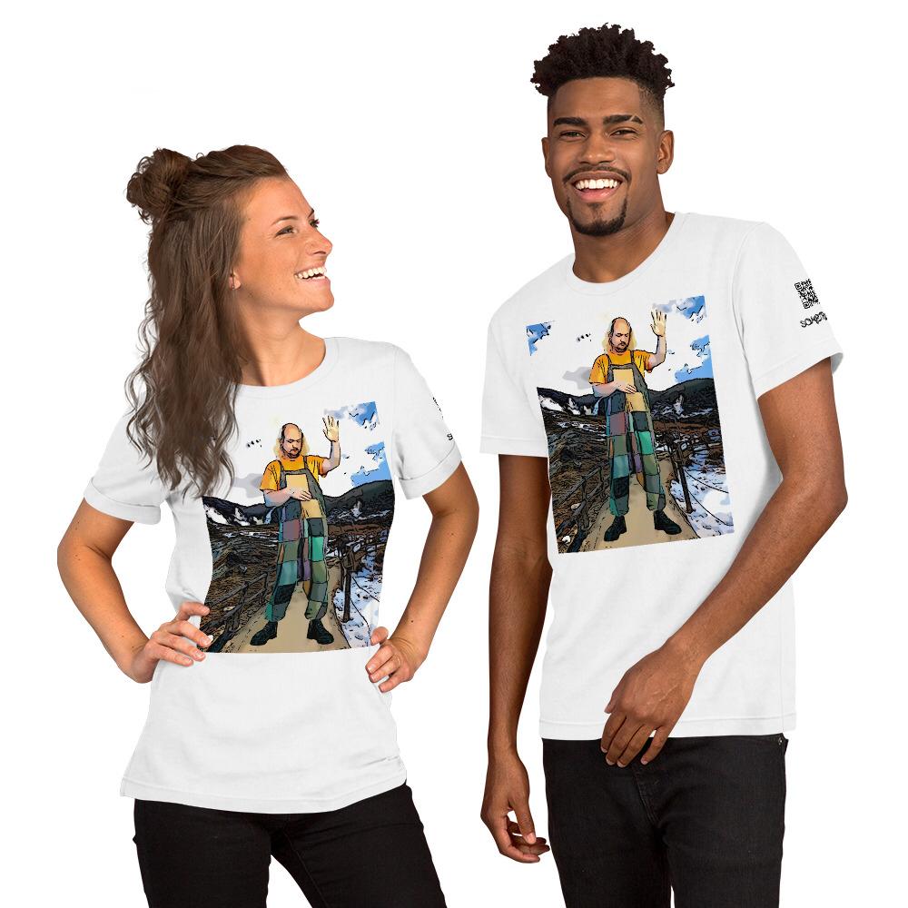 Owankudani comic T-shirt