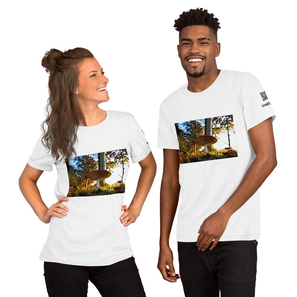 Mushroom comic T-shirt