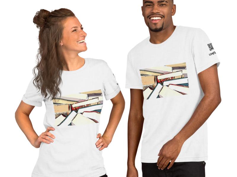 Books comic T-shirt