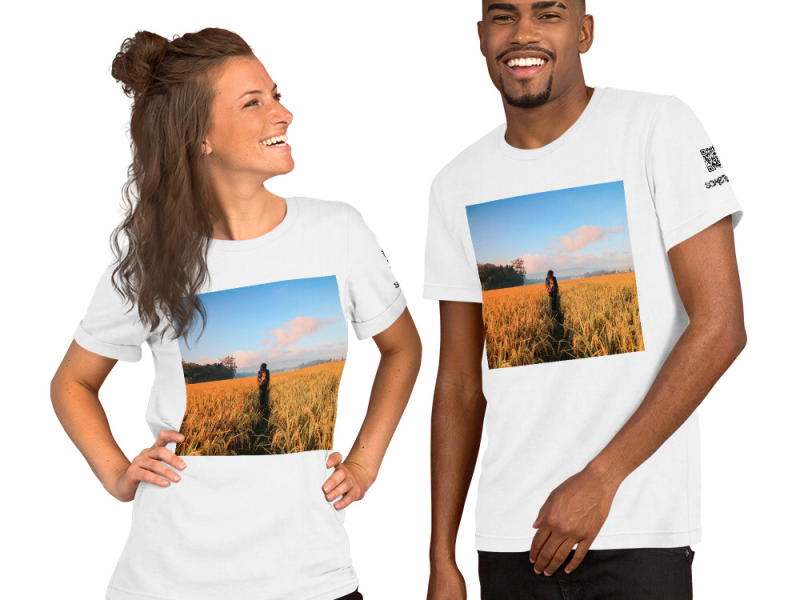 Rice Field T-shirt
