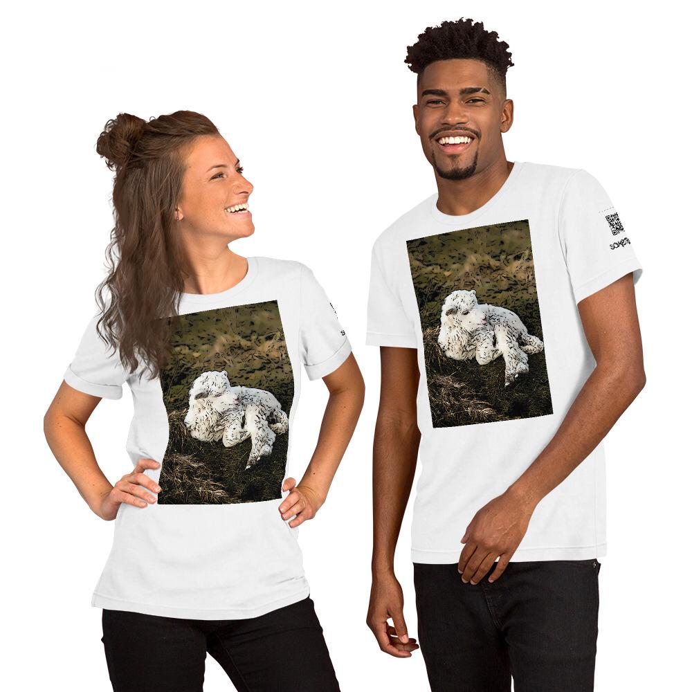 Sheep comic T-shirt