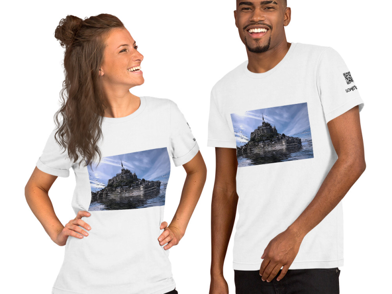 Castle comic T-shirt