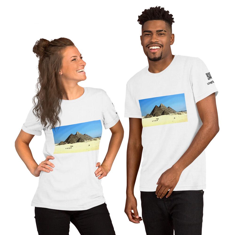 Pyramids comic T-shirt