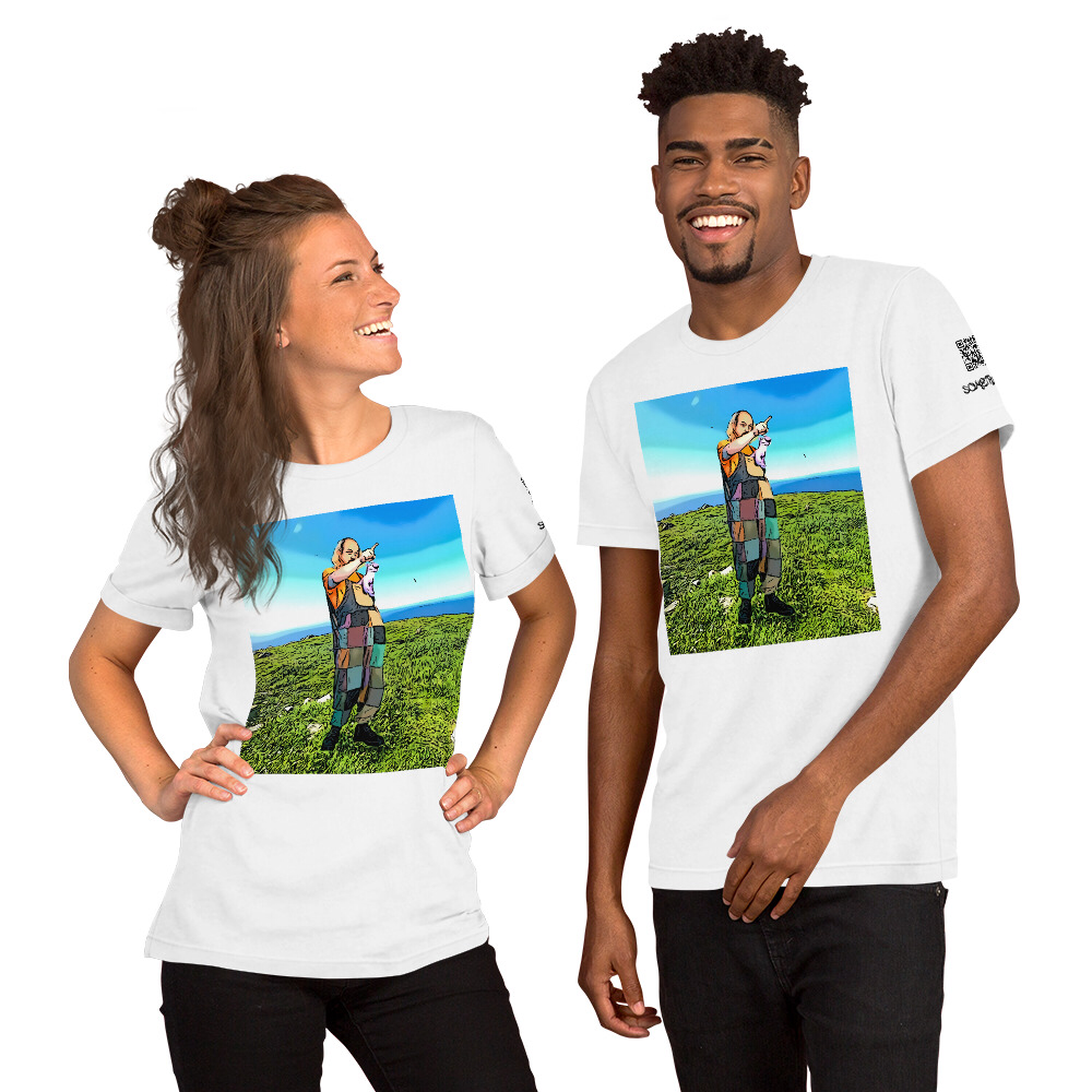 Something visits Ailsa Craig, Scotland T-shirt