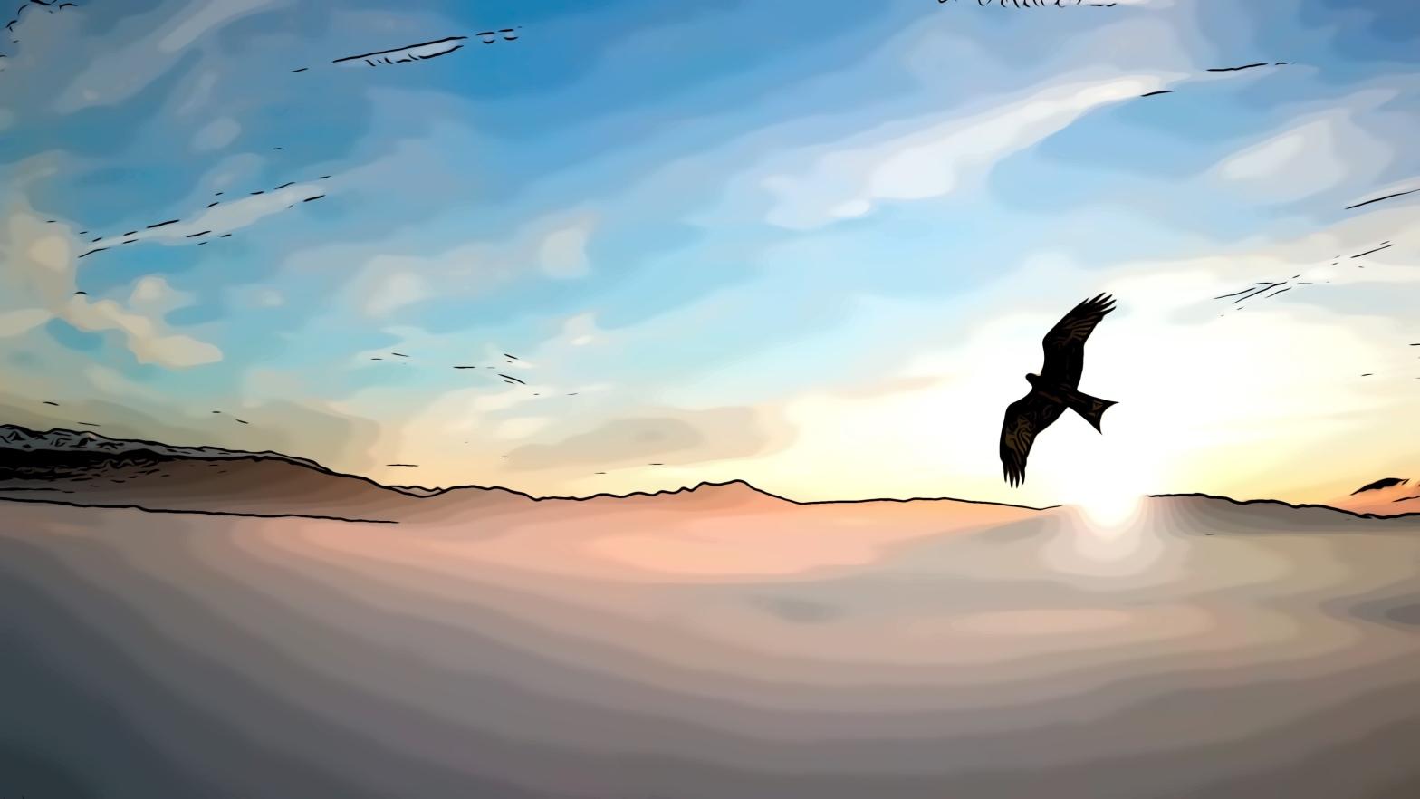 Snake Eagle comic