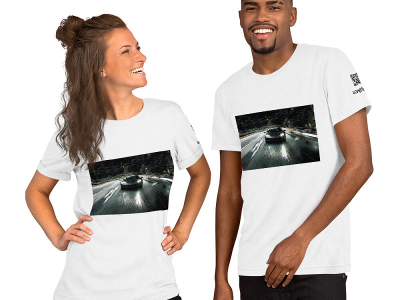 Racing comic T-shirt