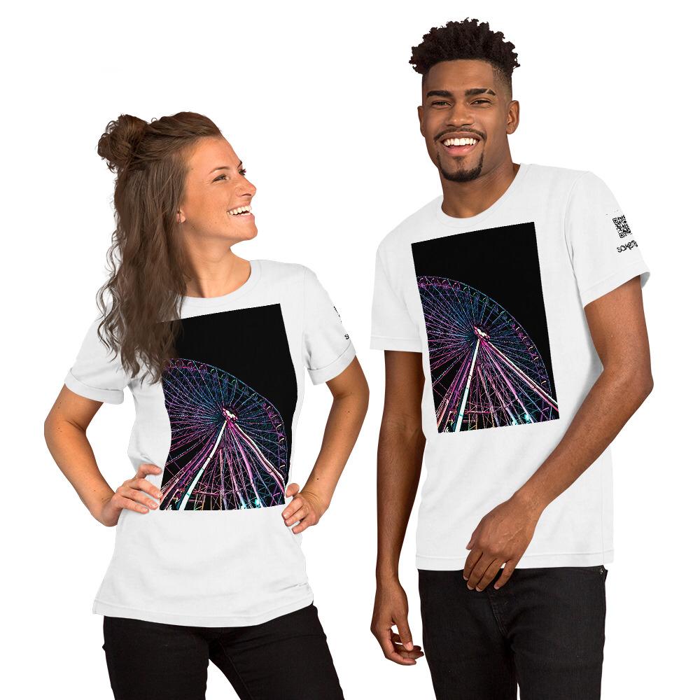 Theme park comic T-shirt
