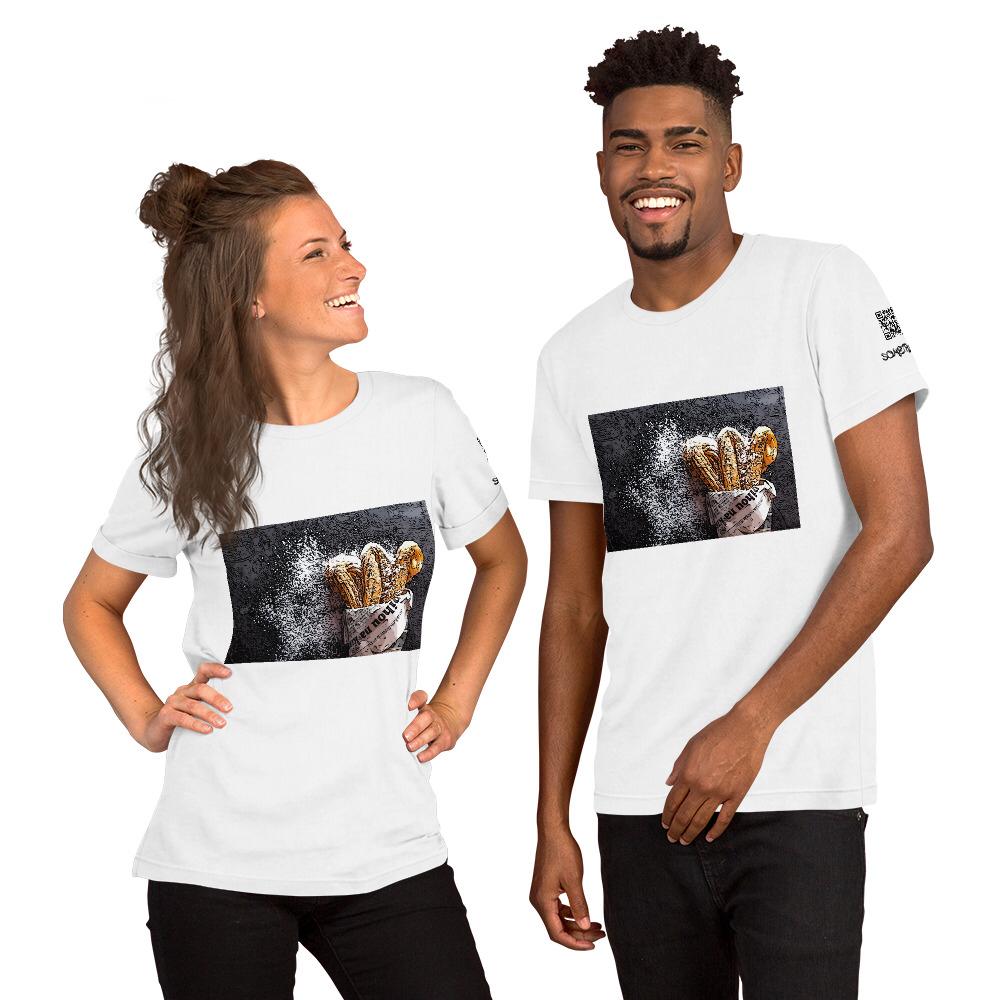Churros comic T-shirt
