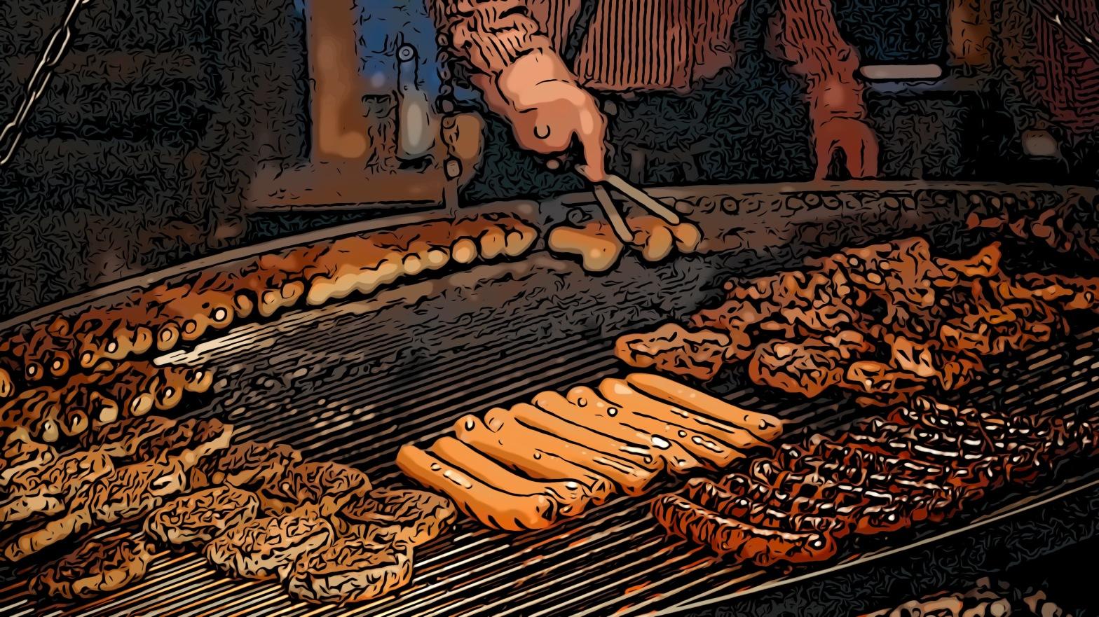 Hotdogs header comic