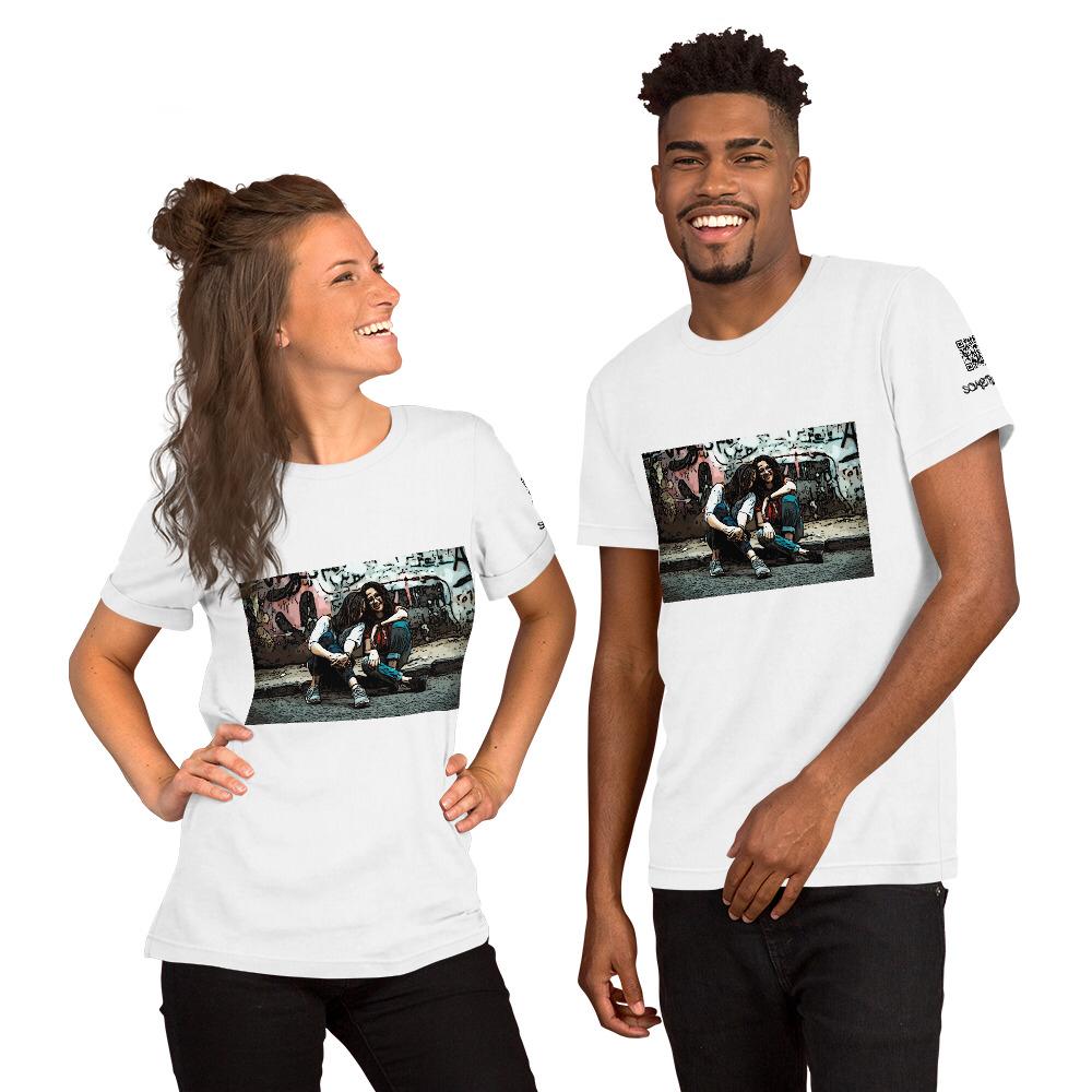 Girls comic T-shirt