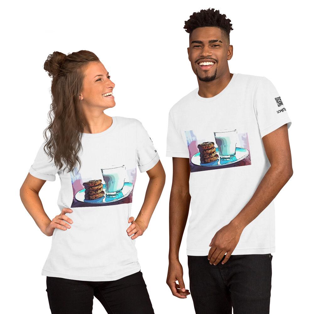 Milk comic T-shirt