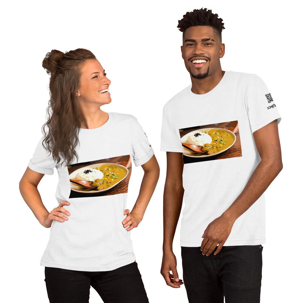 Curry comic T-shirt