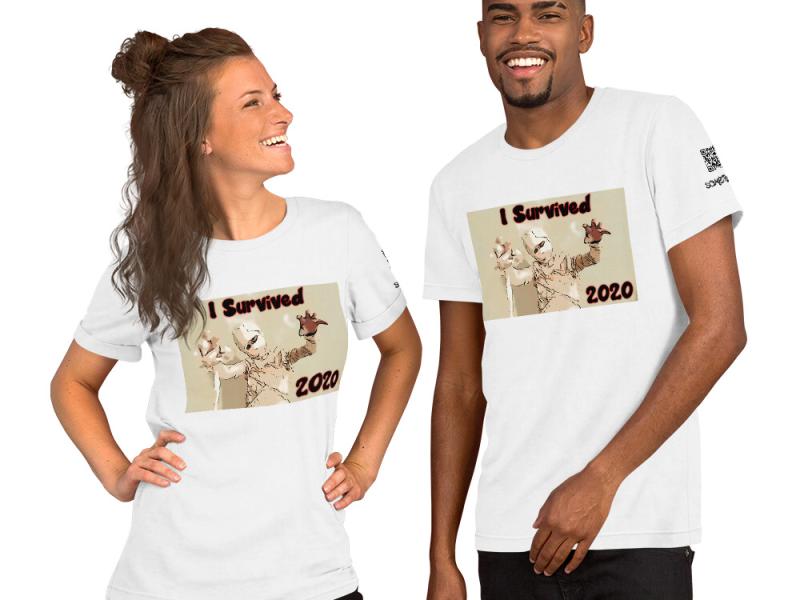 2020 comic T-shirt