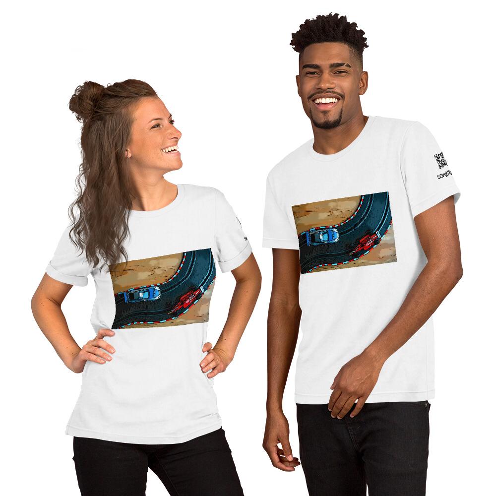 Pursuit comic T-shirt
