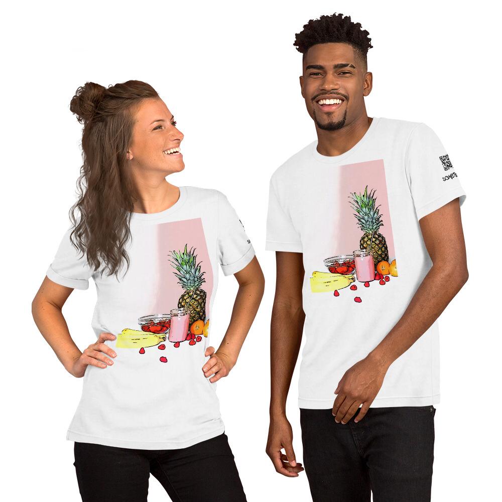 Fruit comic T-shirt