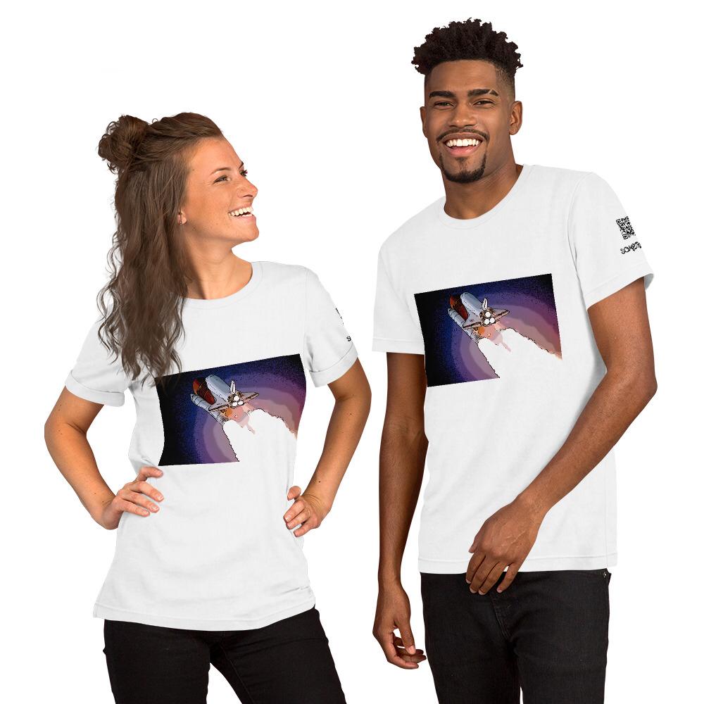 Rocket comic T-shirt