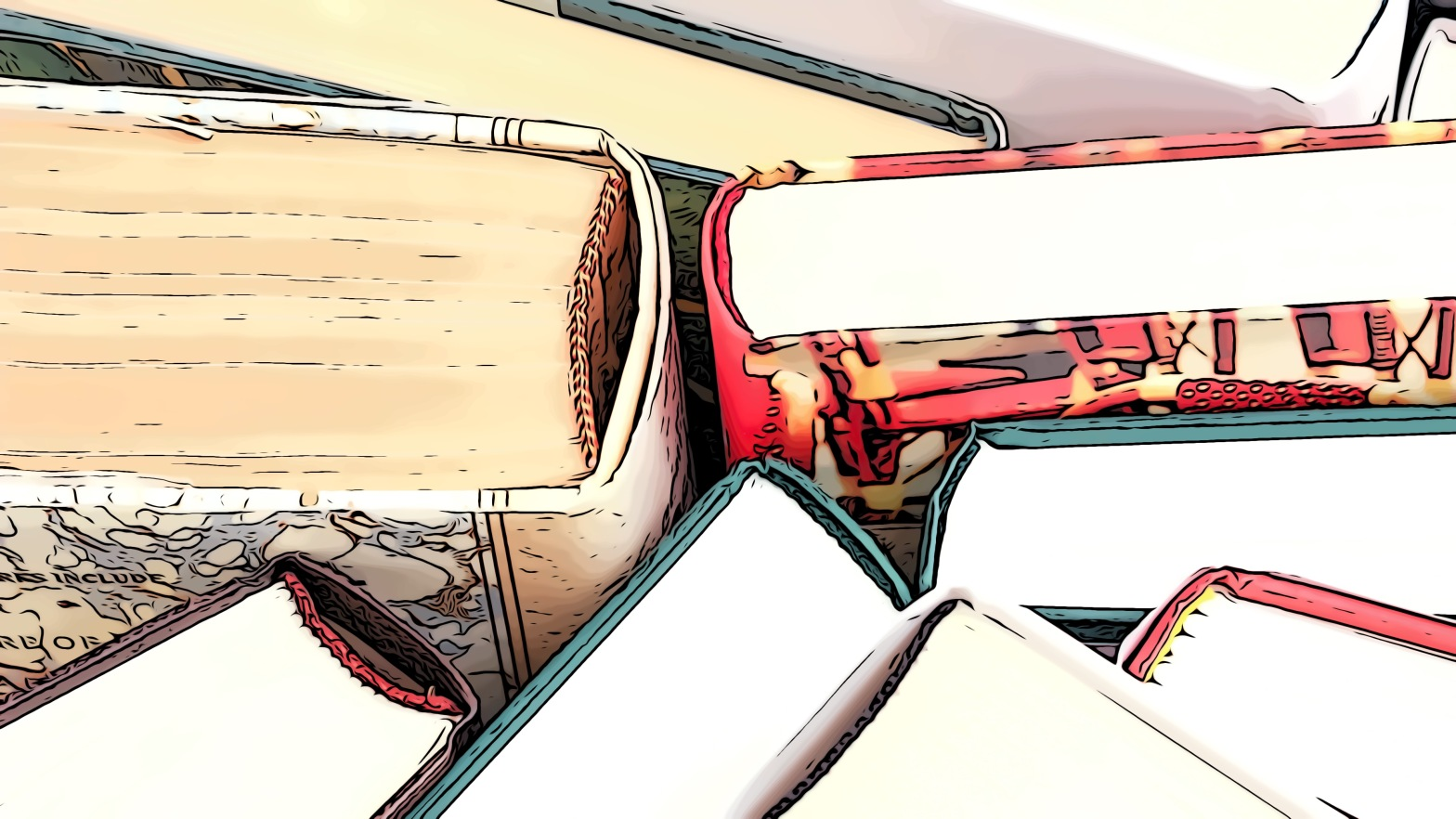 Books header comic