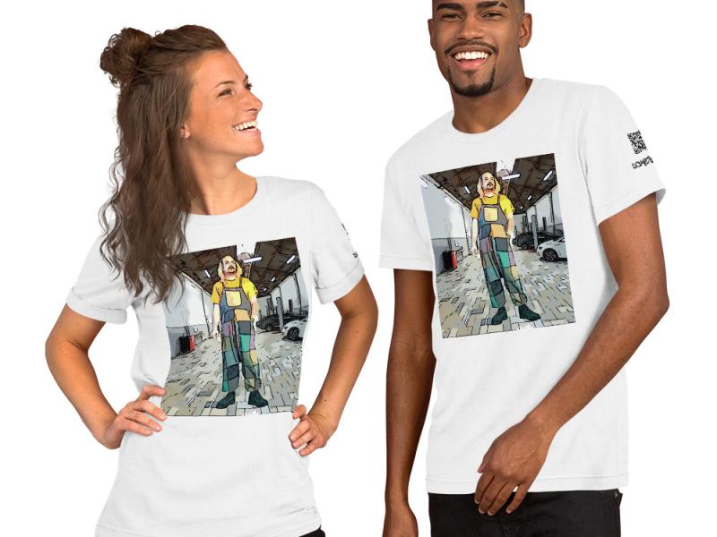 Ramos comic T-shirt
