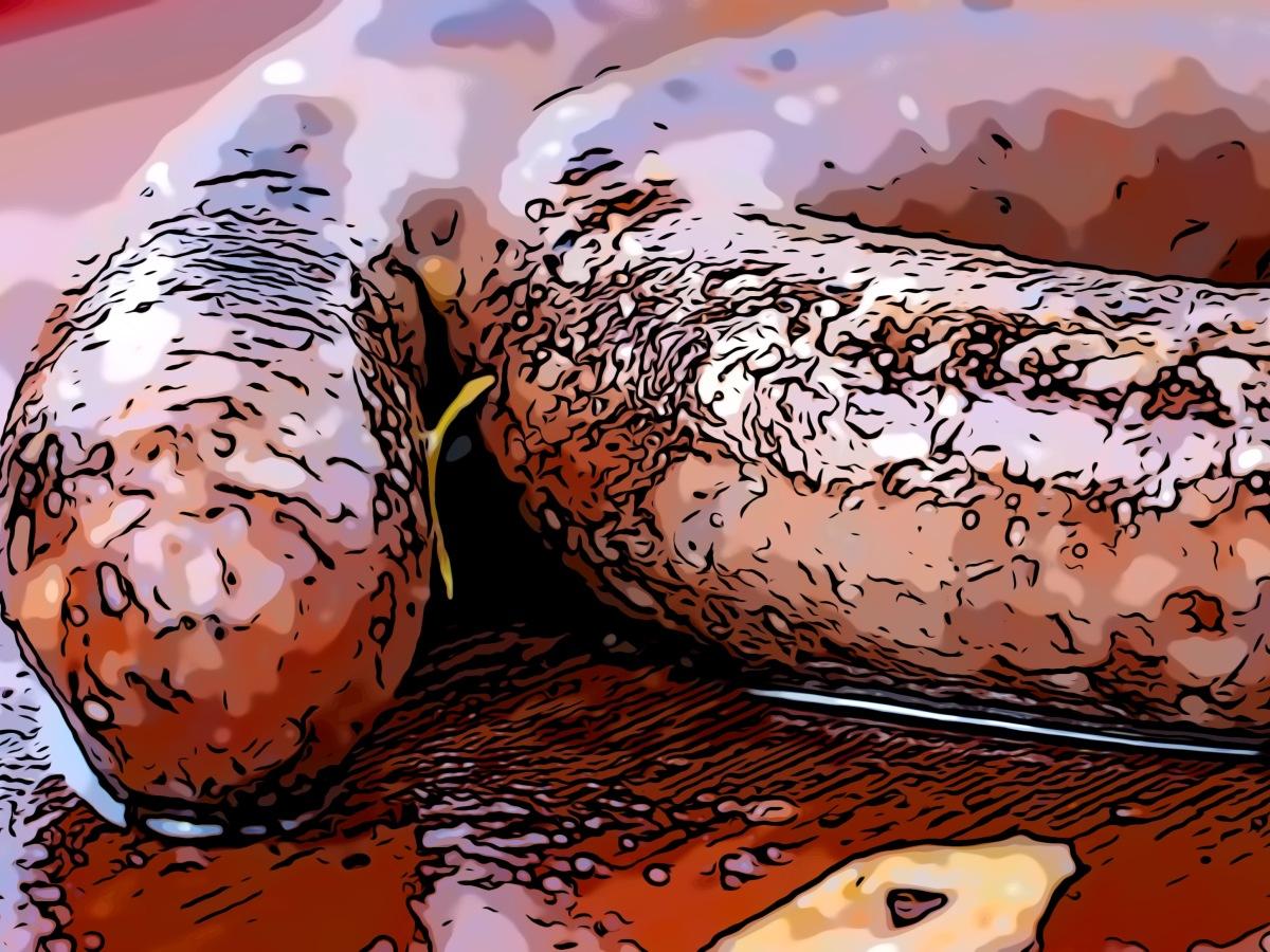 Sausages header comic
