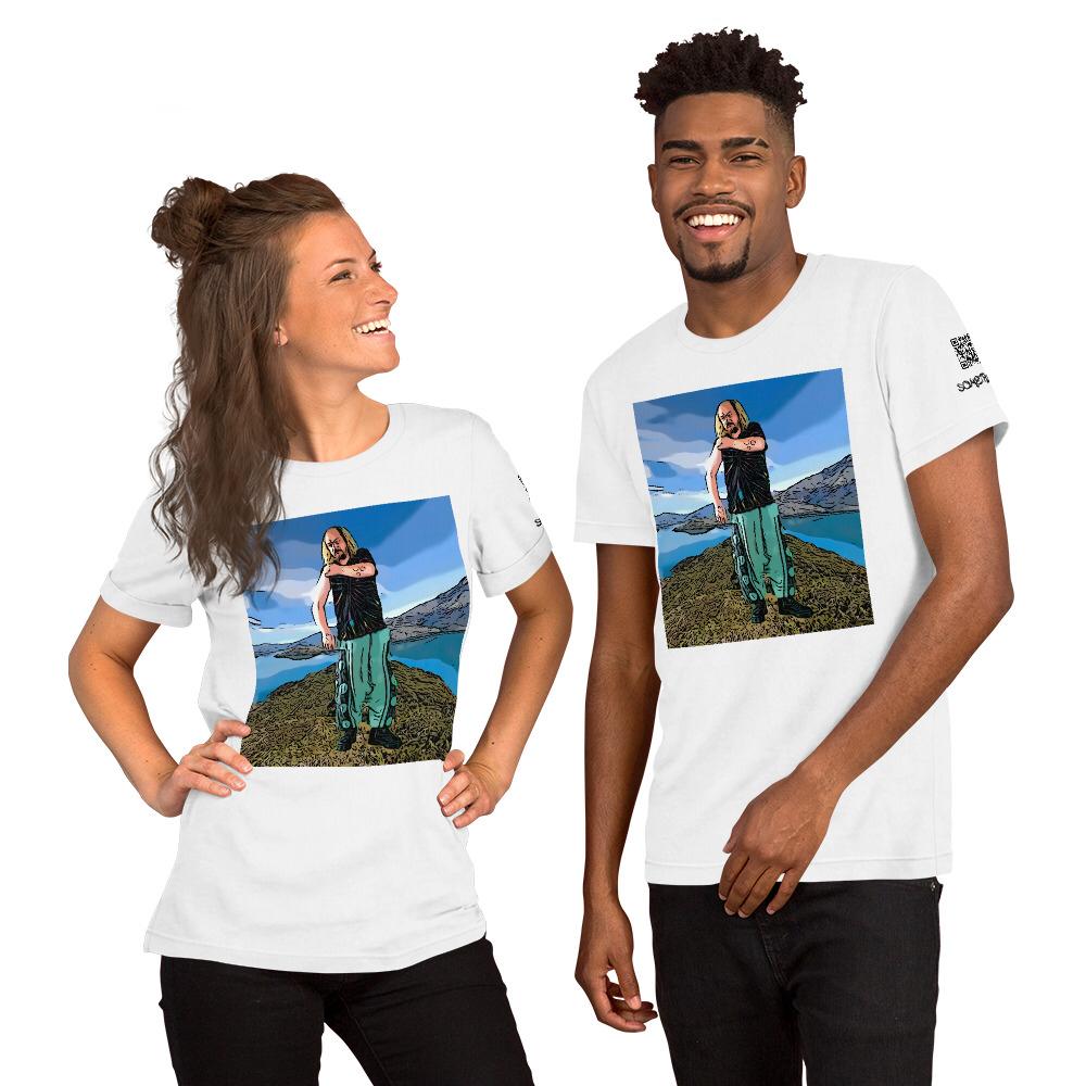 Wanaka comic T-shirt