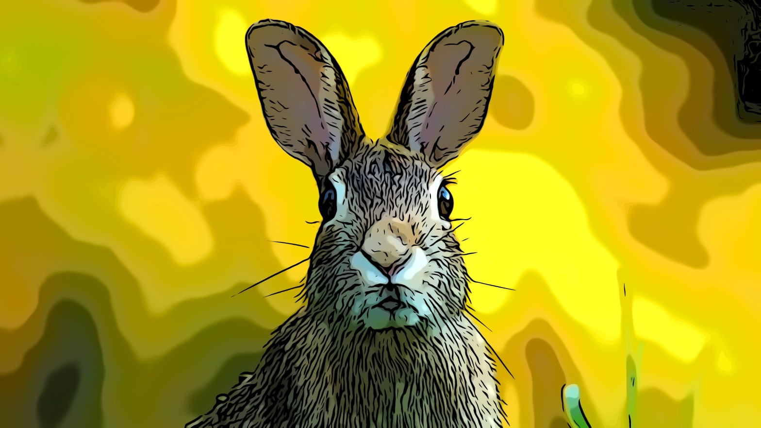 Rabbit header comic