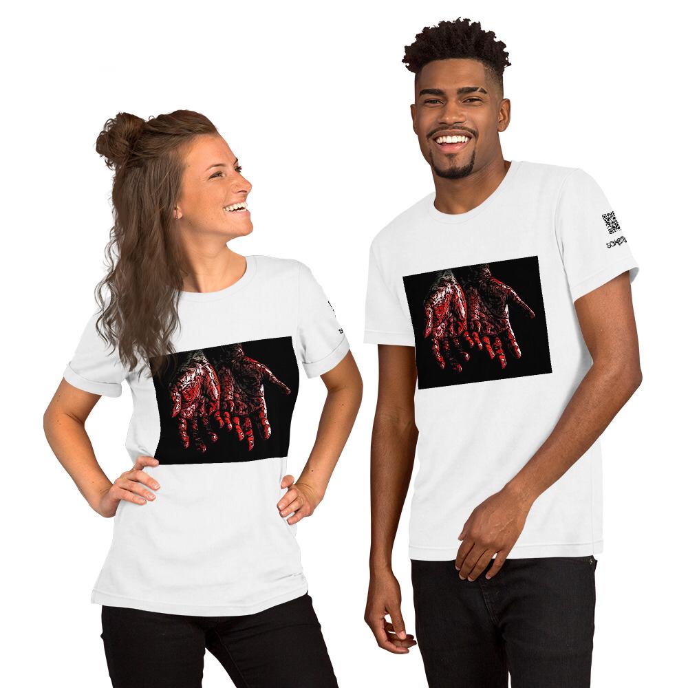 Blood comic T-shirt