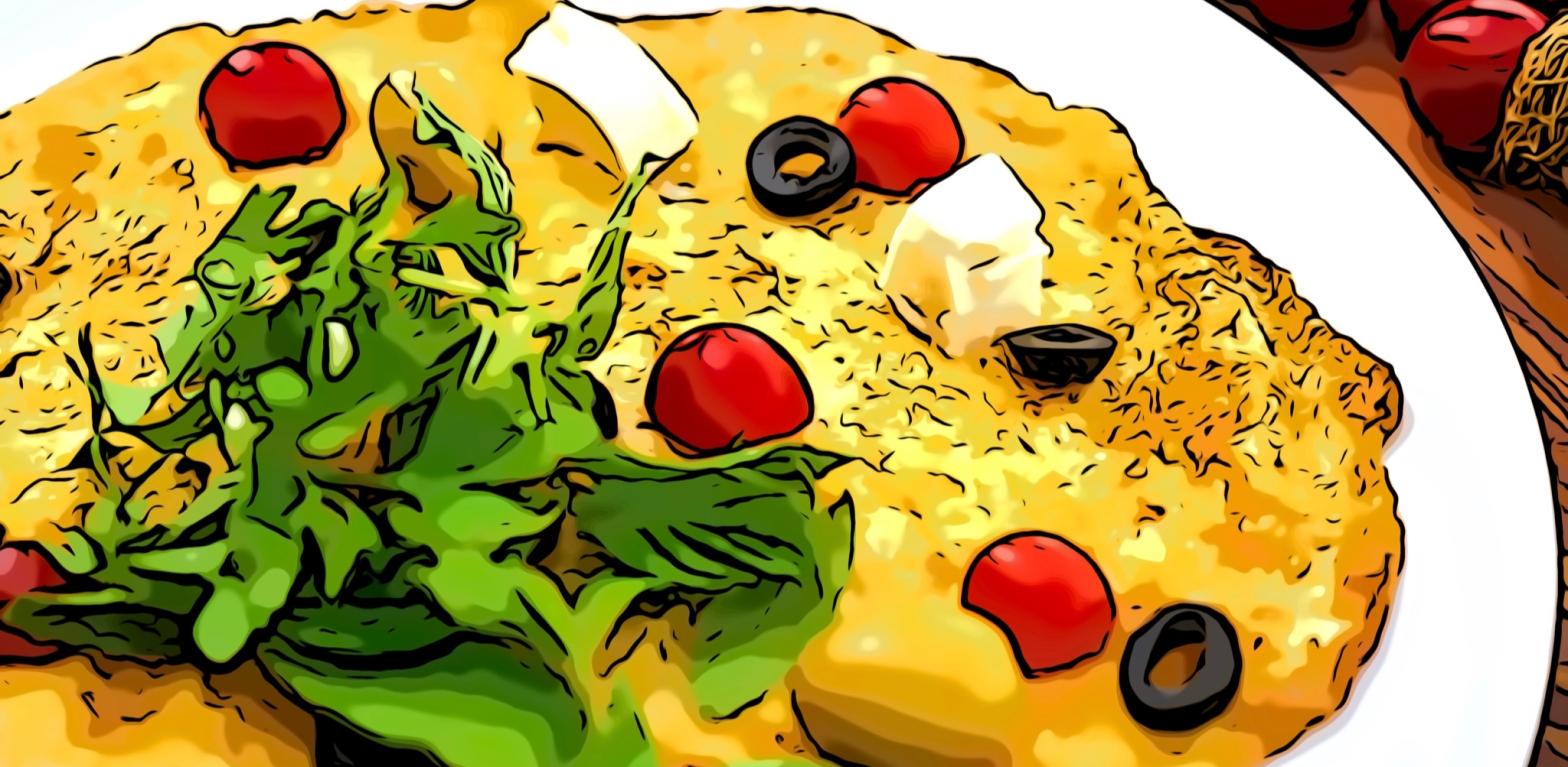 Omelette header comic