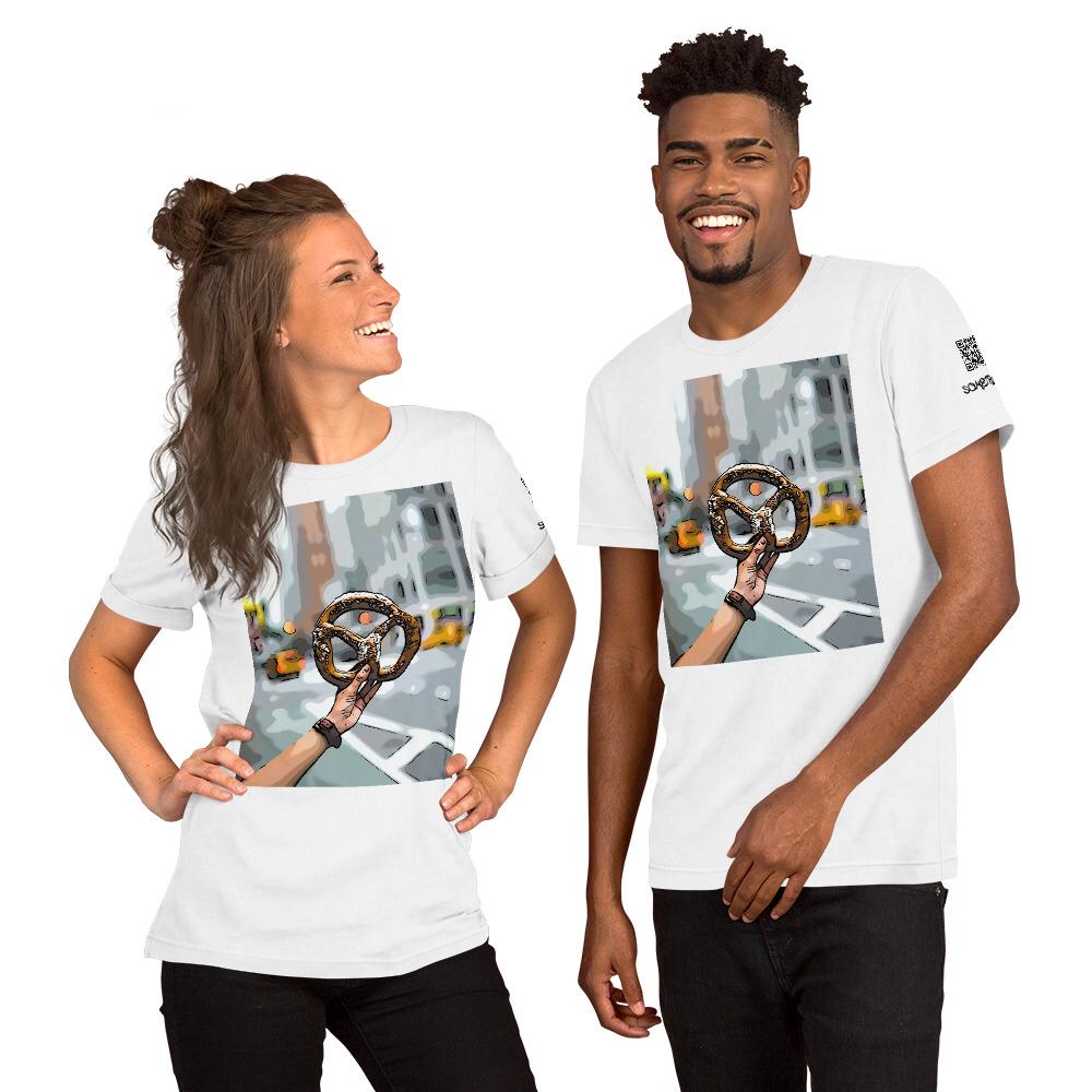 Pretzel comic T-shirt