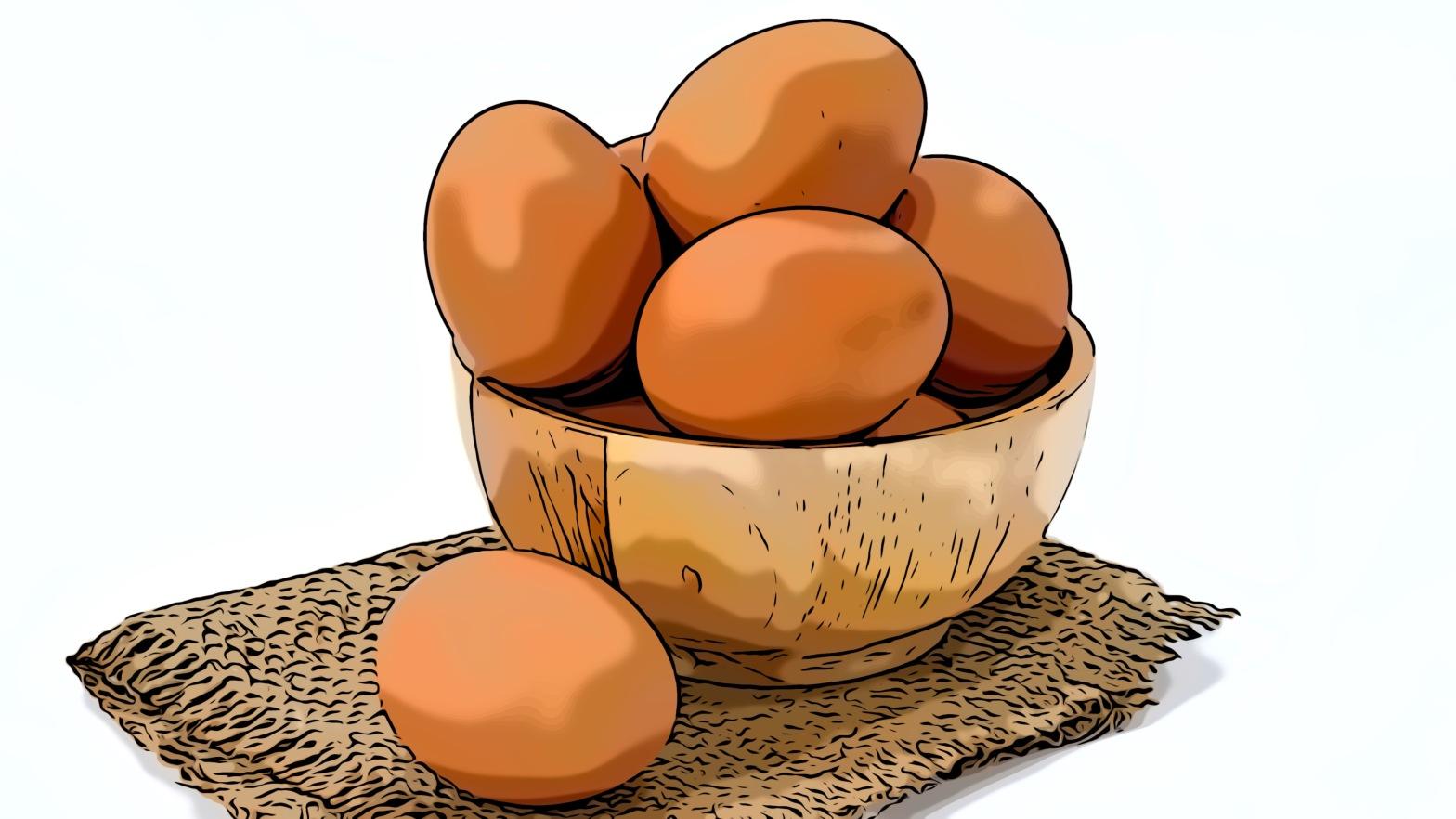 Eggs header comic