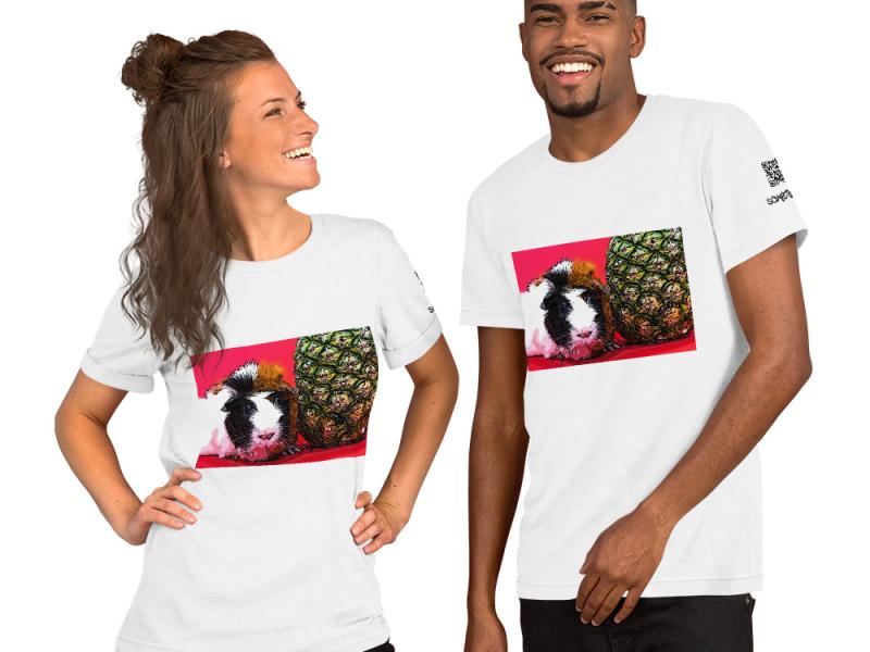 Guinea pig comic T-shirt