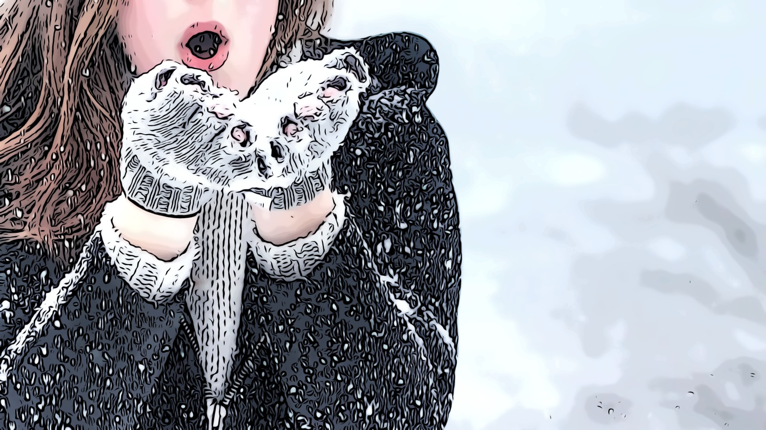 Winter header comic