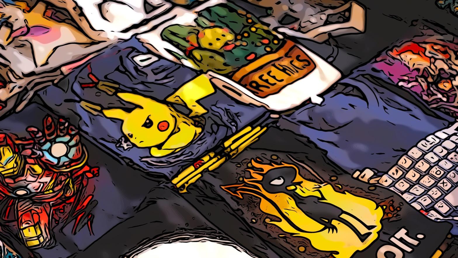 T-shirt comic