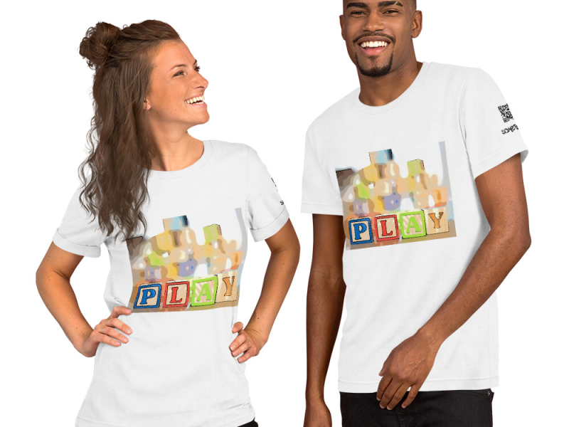 Play comic T-shirt