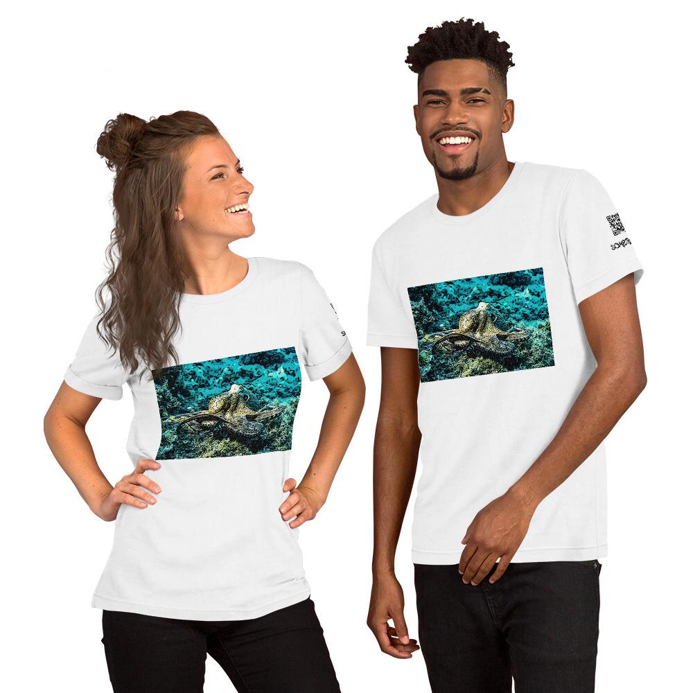 Octopus comic T-shirt