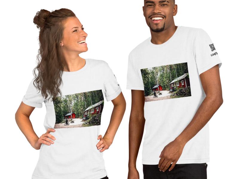 Finland comic T-shirt