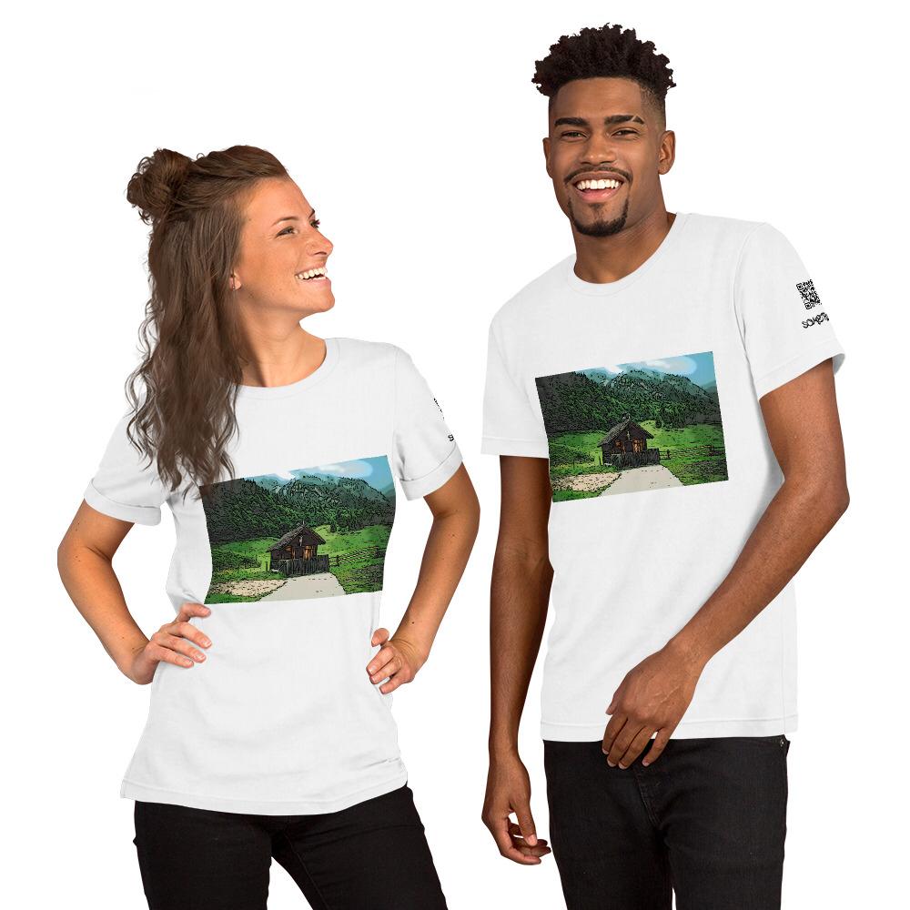 Hut comic T-shirt