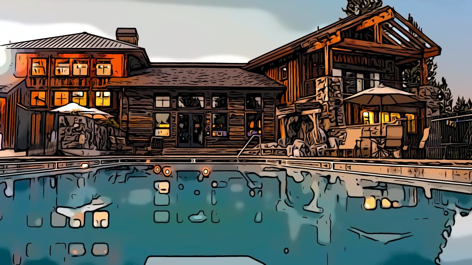 Mansion header comic