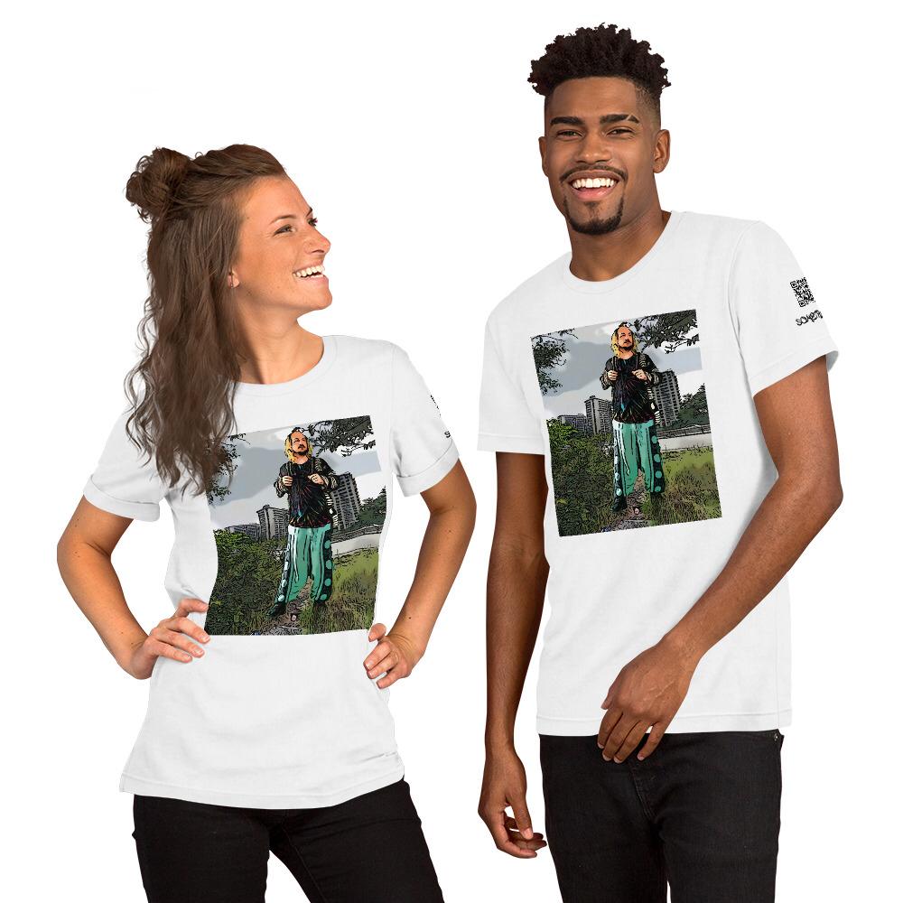 Fort Totten park comic T-shirt